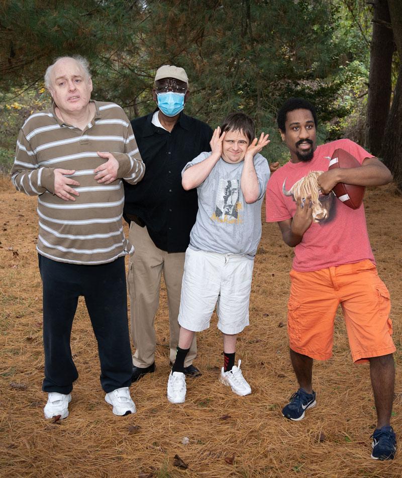 Raymond, Brian, Olatunde and Khalil