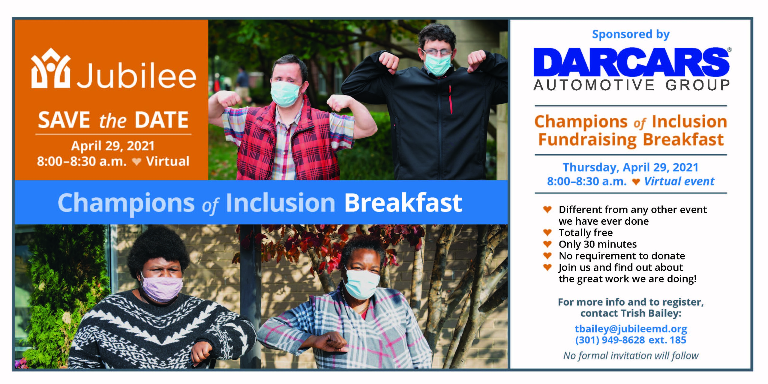 champions of inclusion breakfast invite