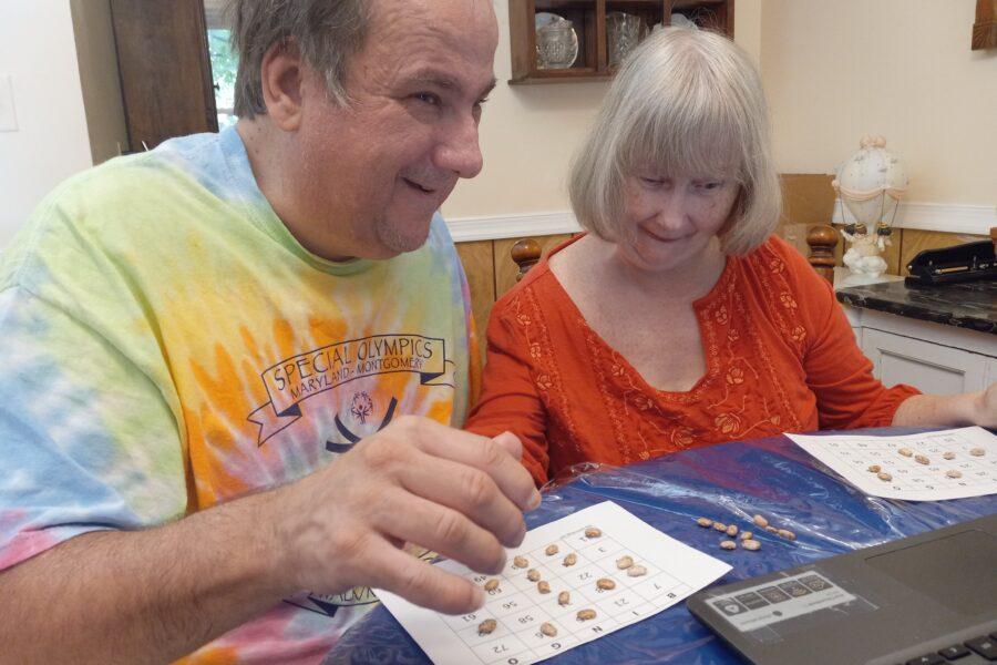 Ben and Mary Jo sweep bingo